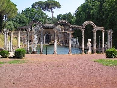 Hadrians villa in italy