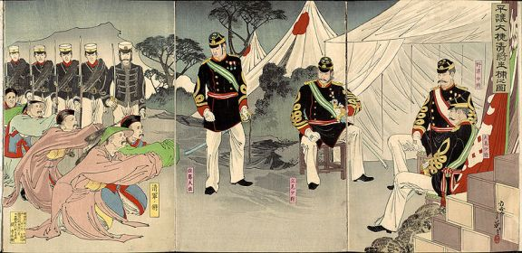 Illustration of Chinese Generals from Pyongyang Captured Alive.jpg