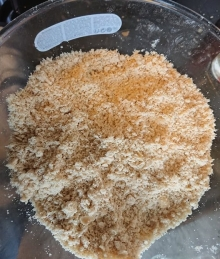 Bread-crumby mixture